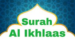 Surah Al Ikhlaas