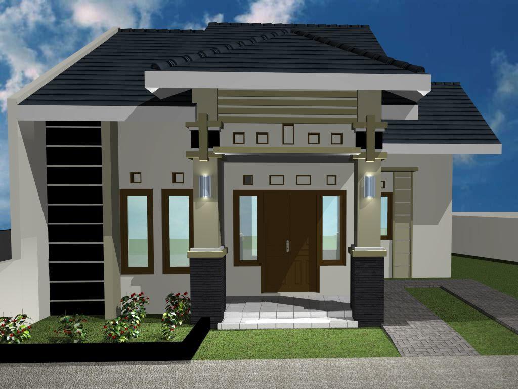 70 Contoh Desain Rumah Minimalis Type 60 Bergaya Modern Dan Elegan