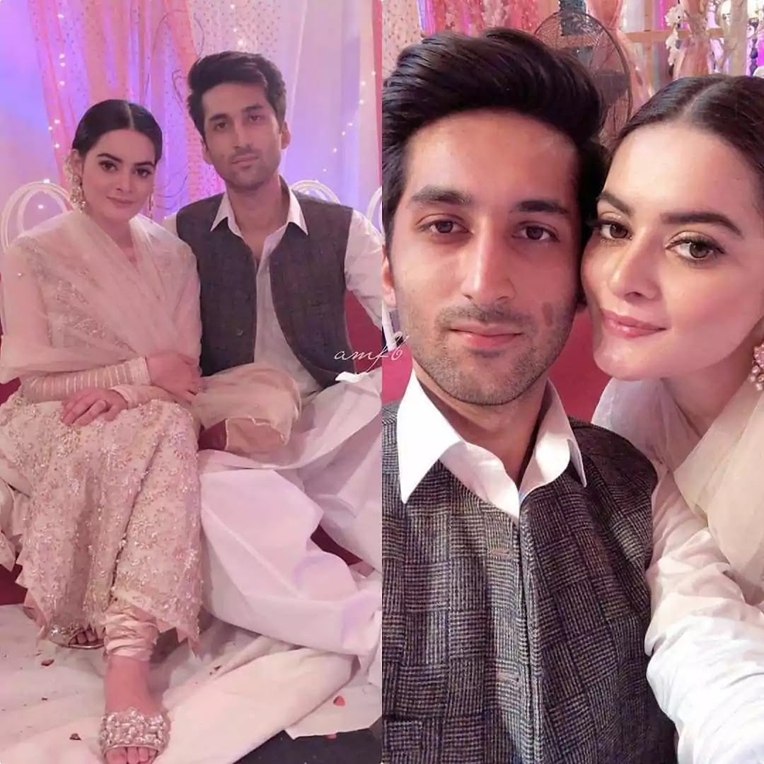 Minal Khan New And Lovely Clicks With Her Best Friend Manzoor