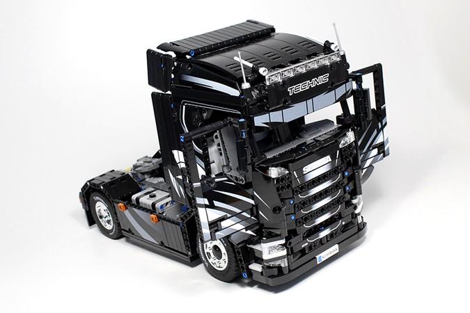 Nova geração Scania pode ganhar versão em LEGO