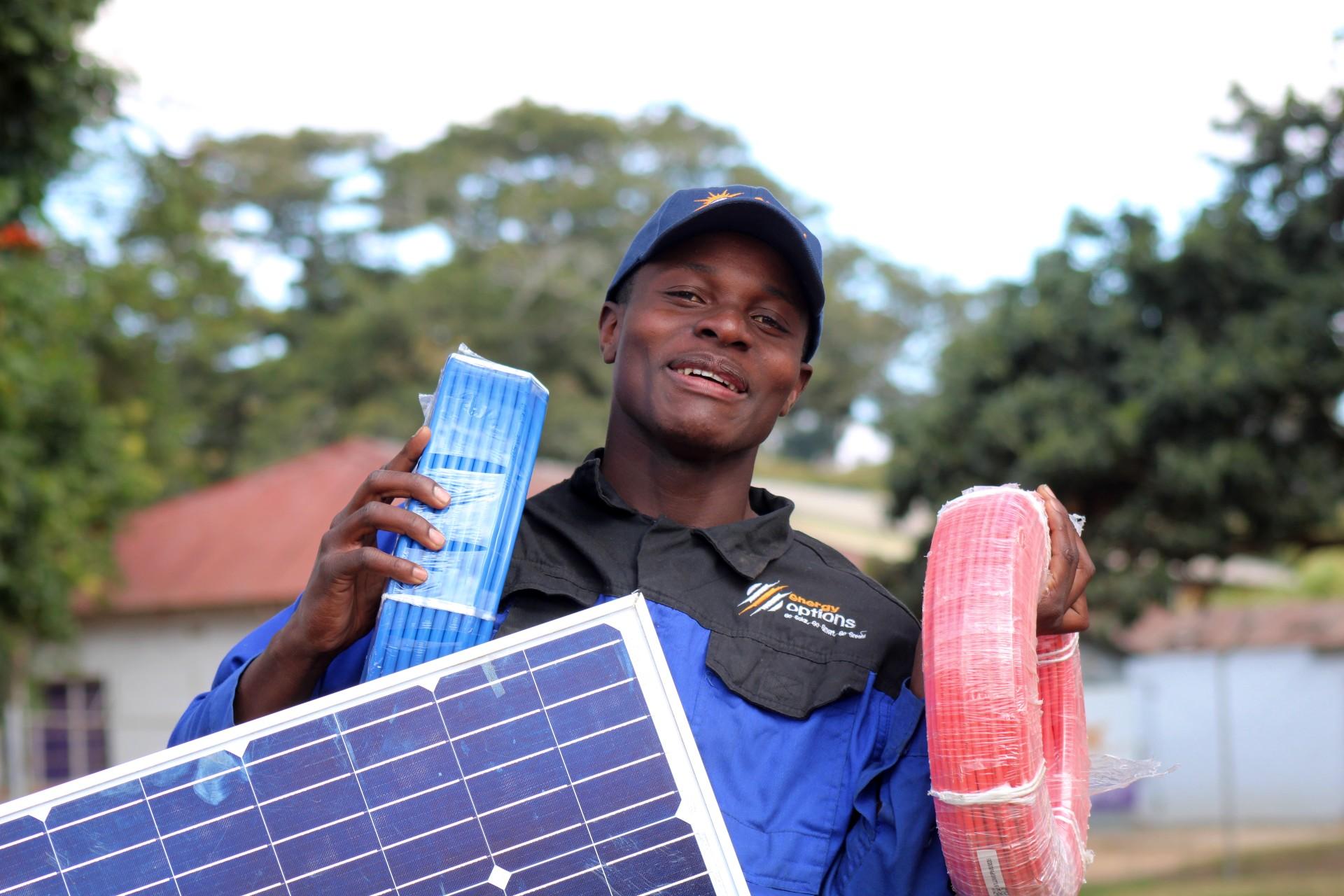 Zimbabwe Leads In Harnessing Solar Energy!
