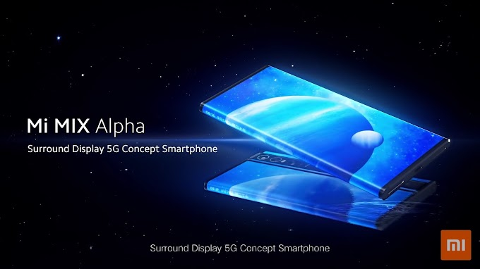 Xiaomi launched its Mi Mix Alpha with surround display and 108 MP camera