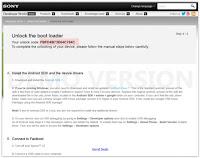 Unlock Bootloader Xperia XZ