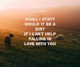 Pictures Quotes Kina Grannis - Can't Help Falling in Love