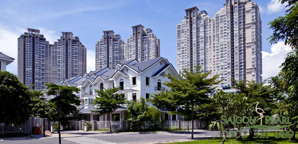 Saigon Pearl villas & apartments.