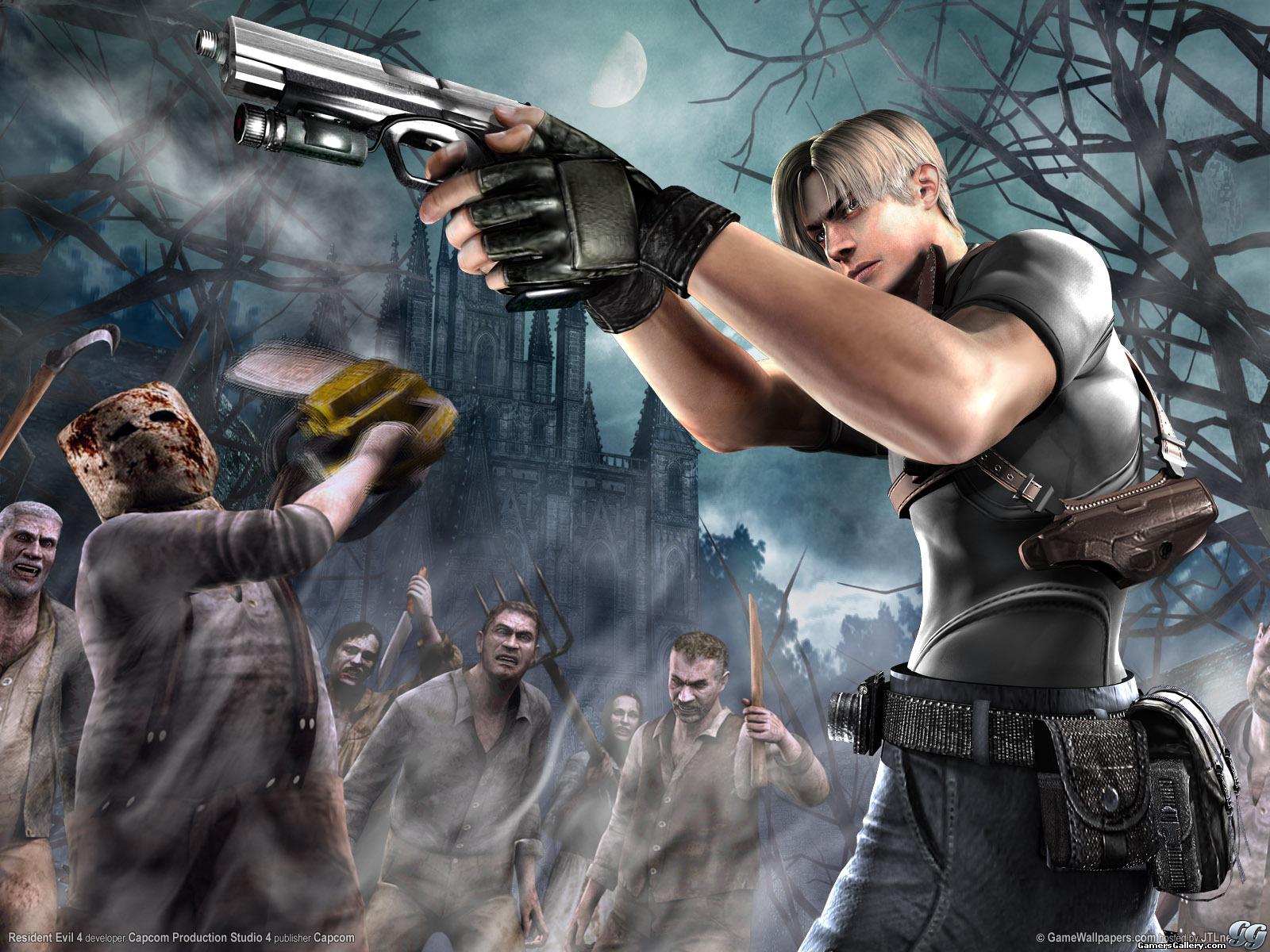 Super Video Game Brawl: Resident Evil 4 vs Resident Evil 5