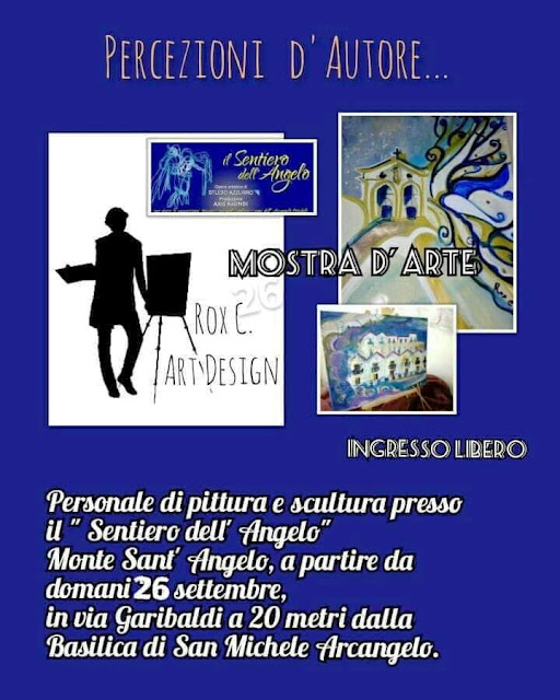 """""""Percezioni d'Autore"""" dal 26 settembre mostra d'arte Monte Sant'Angelo con il """"Sentiero dell'Angelo"""""""