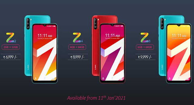 lava-z1-z2-z4-z6-myz-price-in-india