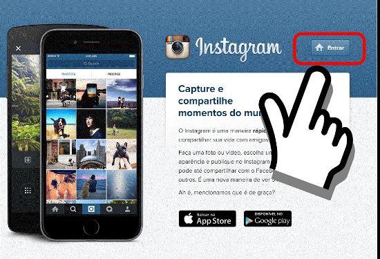 mudar a Senha do Instagram