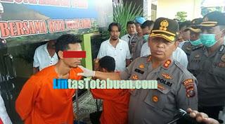 Polres Batu Bara Berhasil Menyikat Dua Kurir Narkoba Asal Aceh