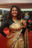 Aditi Myakal look super cute in saree at Mirchi Music Awards South 2017 ~  Exclusive Celebrities Galleries 029.JPG