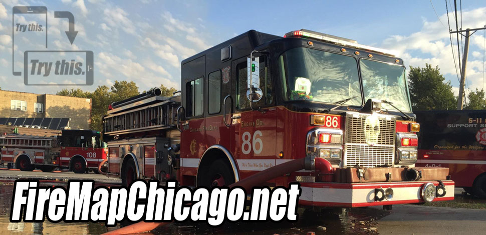 Fire Map Chicago | Fire, Rescue, EMS Incidents