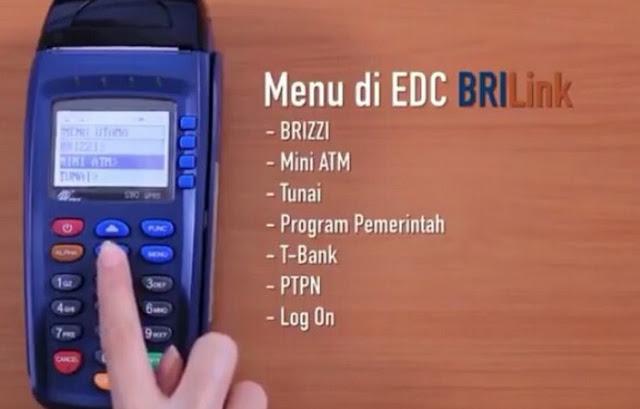 Cara Transfer Lewat BRI Link Dengan Mesin EDC