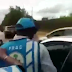 (Video)Man pulls gun on FRSC officials, threatens to blow off their heads for trying to impound his car