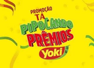 Cadastrar Promoção Pipocas Yoki Tá Pipocando Prêmios Jogue e Ganhe