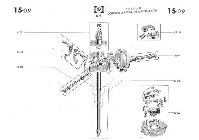 MANUAIS DO PROPRIETÁRIO: CATÁLOGO DE PEÇAS WILLYS 1966