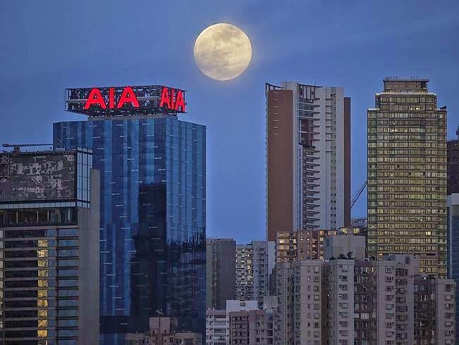 Top 10 - Fotos Super Lua Cheia 2014 Pelo Mundo