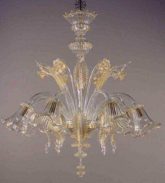 lampadario-in-vetro-di-murano-trasparente-con-oro