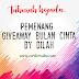 Pemenang Giveaway Bulan Cinta by Dilah