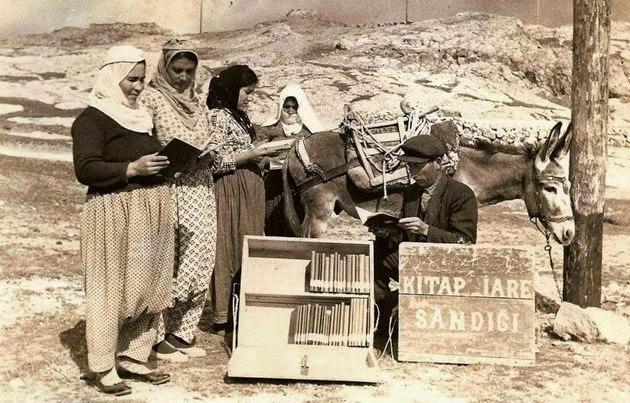 Eşekli Kütüphane Mustafa Güzelgöz
