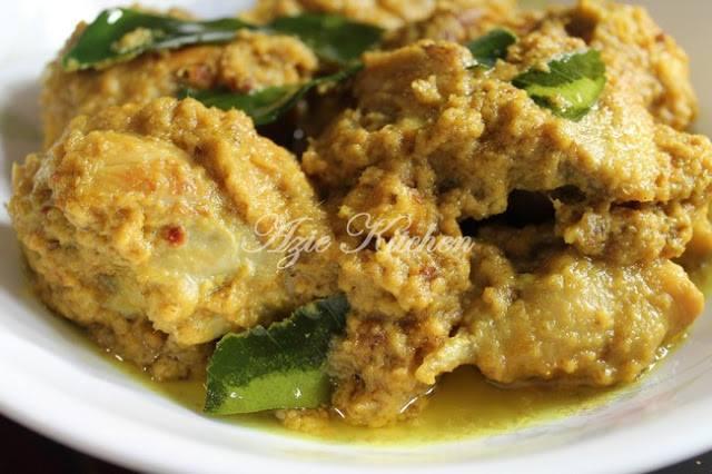 resepi rendang ayam nogori