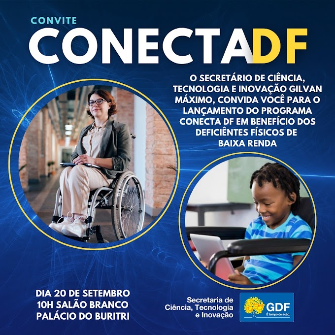 Tecnologia: Programa Conecta DF!