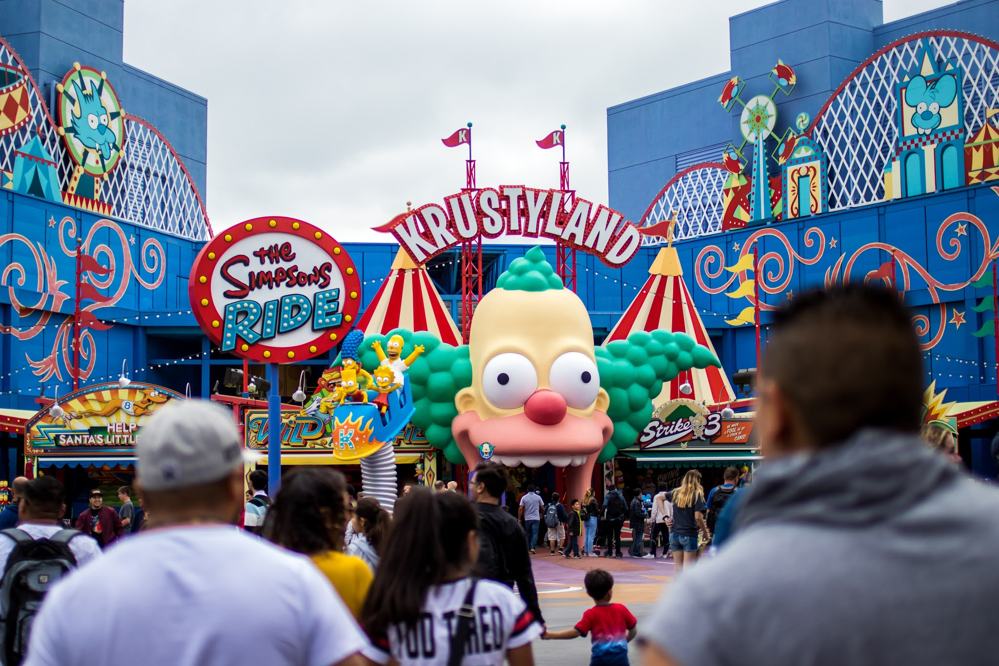 Simpsons parque da Universal Orlando
