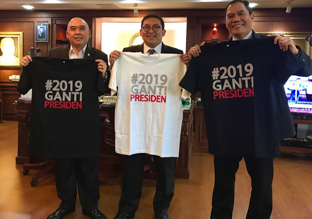 Fadli Zon: 17 April 2019 Rakyat Berkehendak Satu Kata 'Ganti'