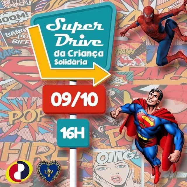 """""""Super Drive da Criança Solidária"""" em Paulista"""