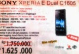 jual ponsel sony xperia