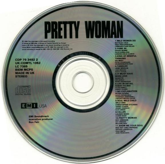 Pretty Woman Soundtrack 10