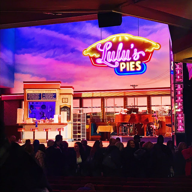 The Waitress stage at the Adelphi Theatre, London
