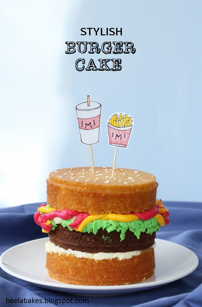 Make A Four Layer Cake
