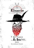 Concierto de Elsanto y los Huaqueros en Sala el Sol