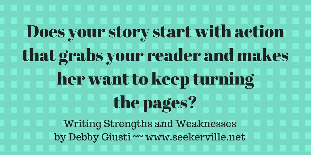 Strength and weakness in writing