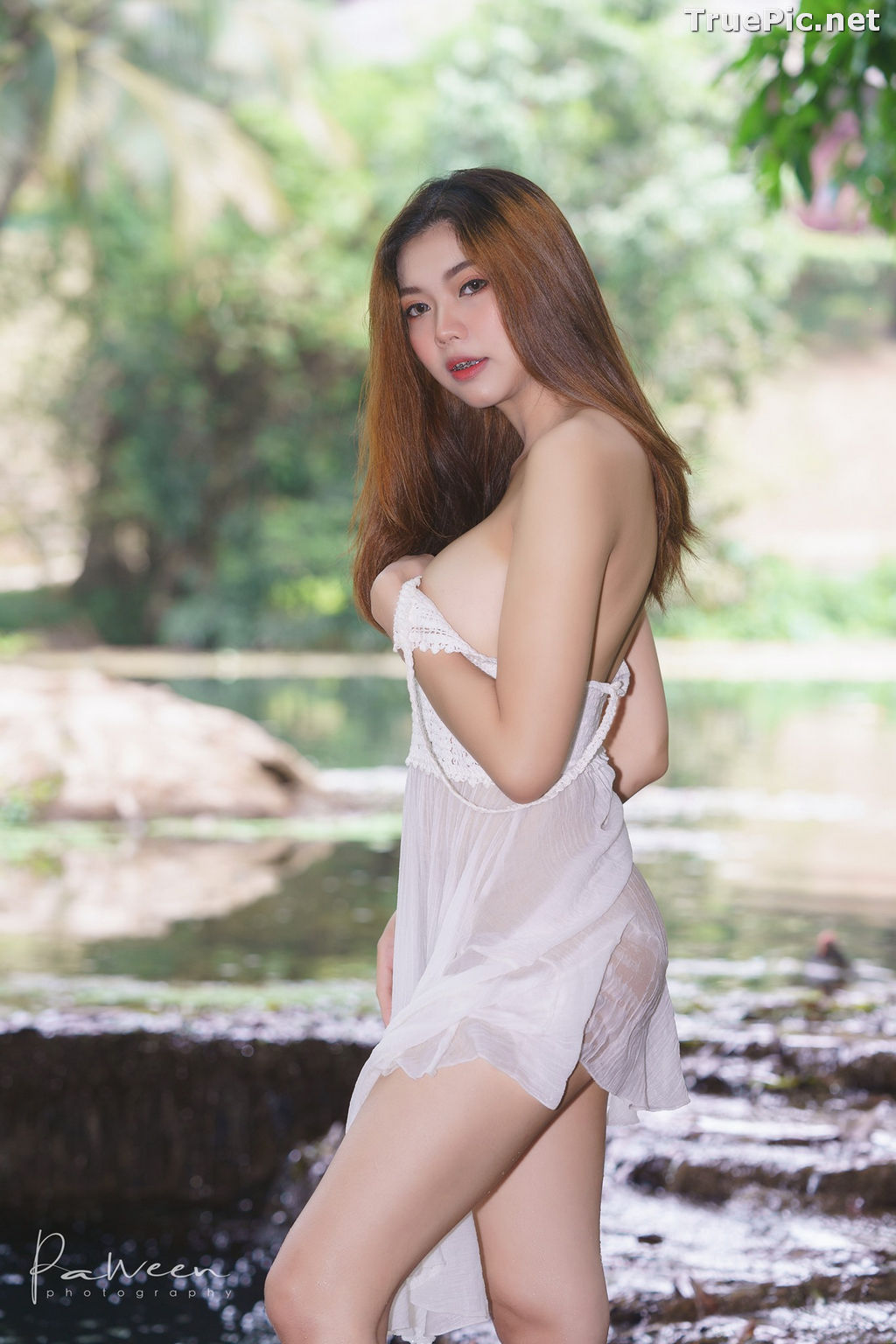 Image Thailand Model - Sirirut Thananet - Beautiful Angel and Small Stream - TruePic.net - Picture-7