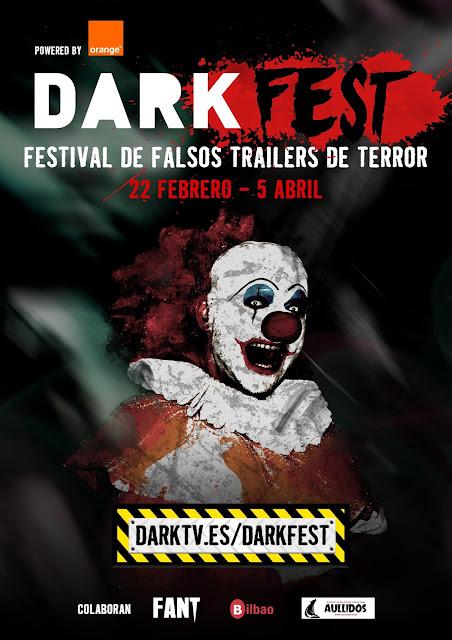 Darkfest primer certamen online de falsos tráilers de terror