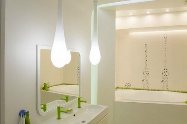 Badezimmer Modern Dachschräge