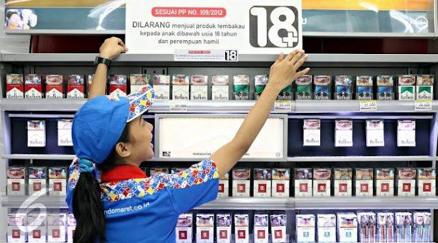 Cara Beli Rokok Di Alfamart dan Indomaret