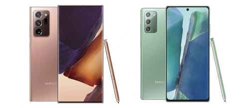 Samsung announces Galaxy Note 20 and Galaxy Note 20 Ultra