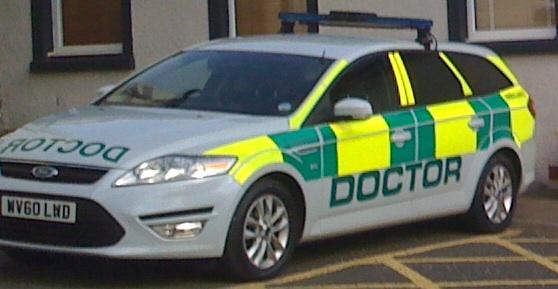 Strachur Medical Practice BASICS Ambulance Doctor Car