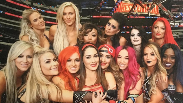 Female WWE Superstars