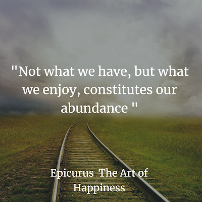Epicurus The Art of Happiness Book  best quotes