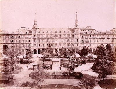 Plaza Mayor de Madrid. 1870