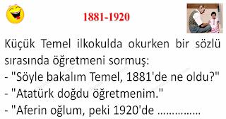1881-1920 - Temel Fıkraları - Komikler Burada
