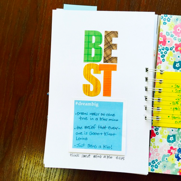 #listersgottalist #lists #list #smashbook #kids #journaling