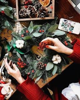 Χριστουγεννιάτικα ΣΤΕΦΑΝΙΑ