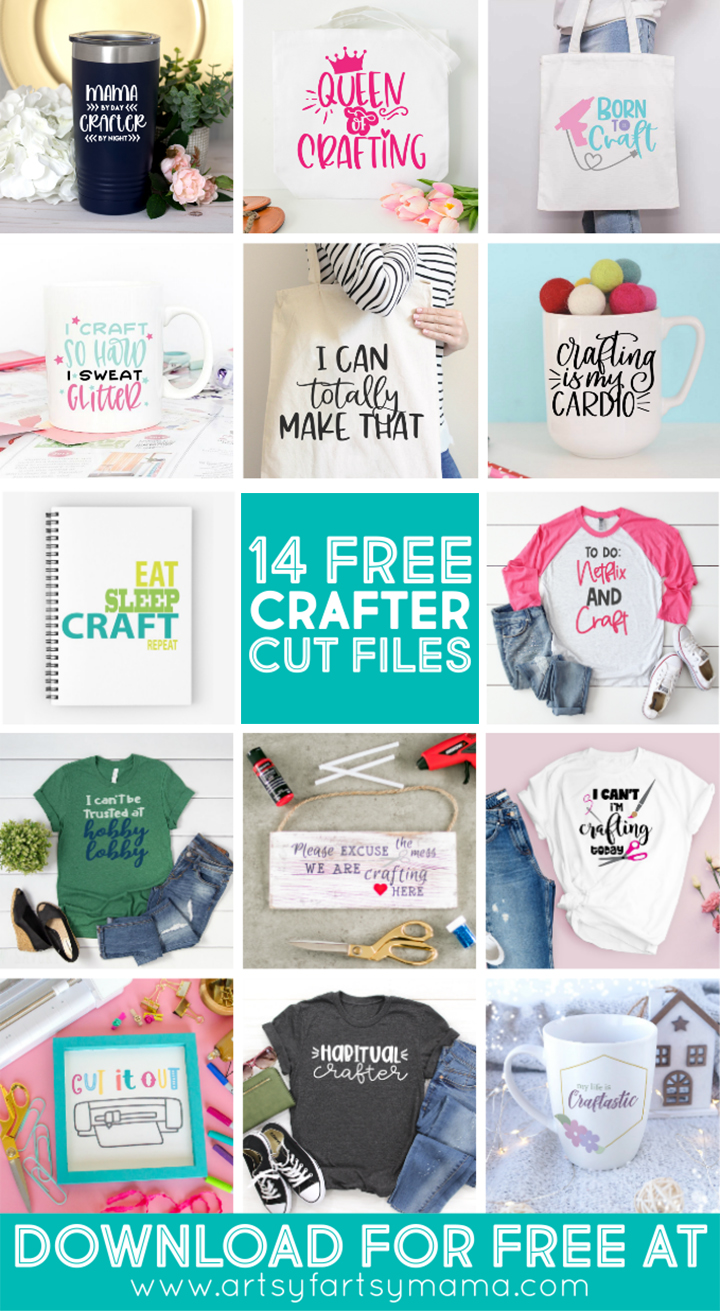14 Free Crafter Cut Files