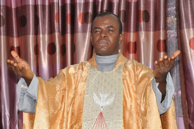COVID-19: Fr. Mbaka declines 'use of strands of hair in bible' to cure Coronavirus