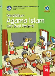Buku Siswa Mata Pelajaran PAI Kelas 6 Revisi 2017